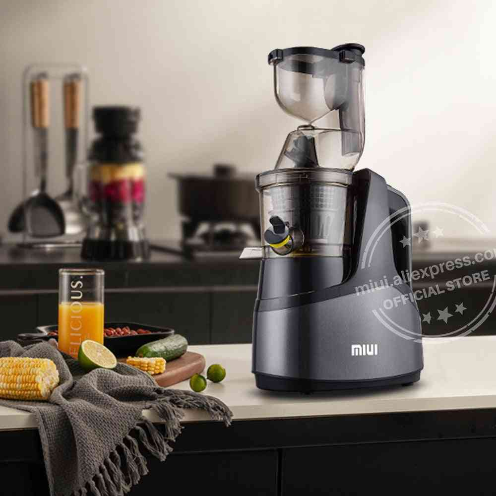 Helical Cold Press, Patented Filter Free, Easy Clean, Commercial Electric Fruit Juicer