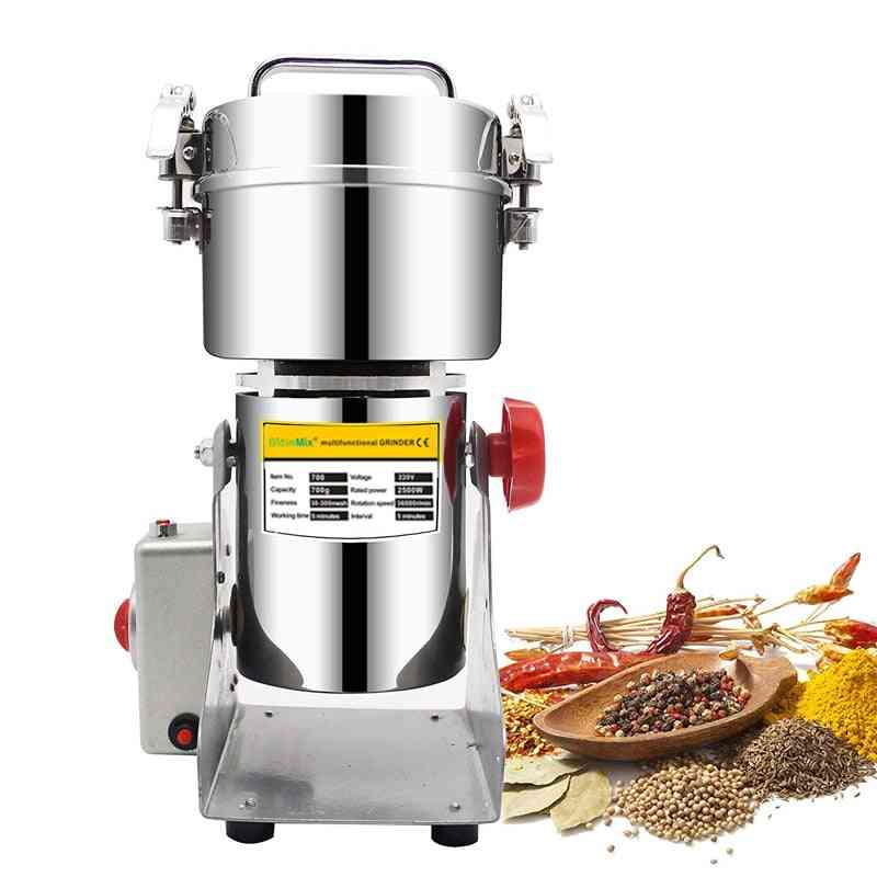 Herbals Cereals Coffee Dry Food Grinder Mill Grinding Machine Gristmill Medicine Crusher