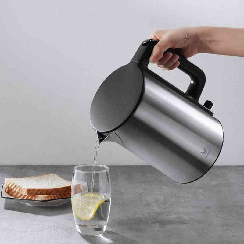 Electric Kettle Heating Pot, Stainless Steel, Large Capacity