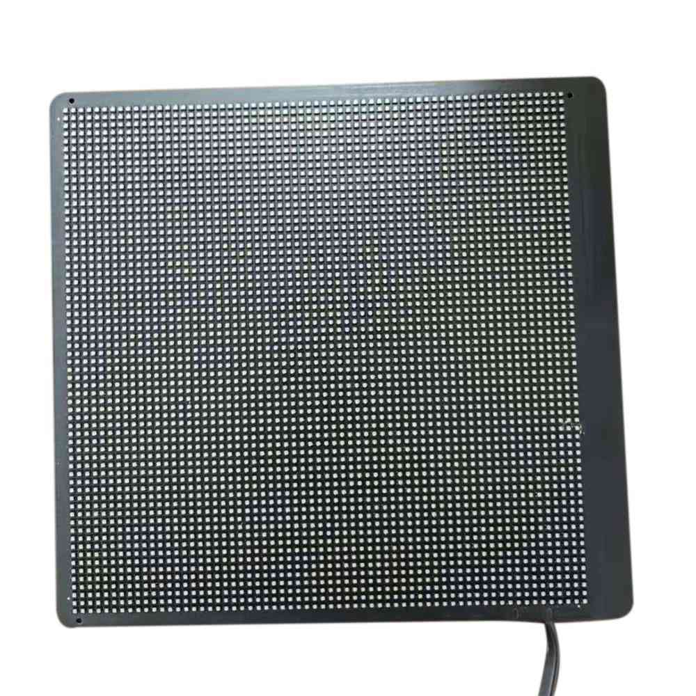 Led Screen Display Wifi Control For Advertising Backpack Accessories (black)