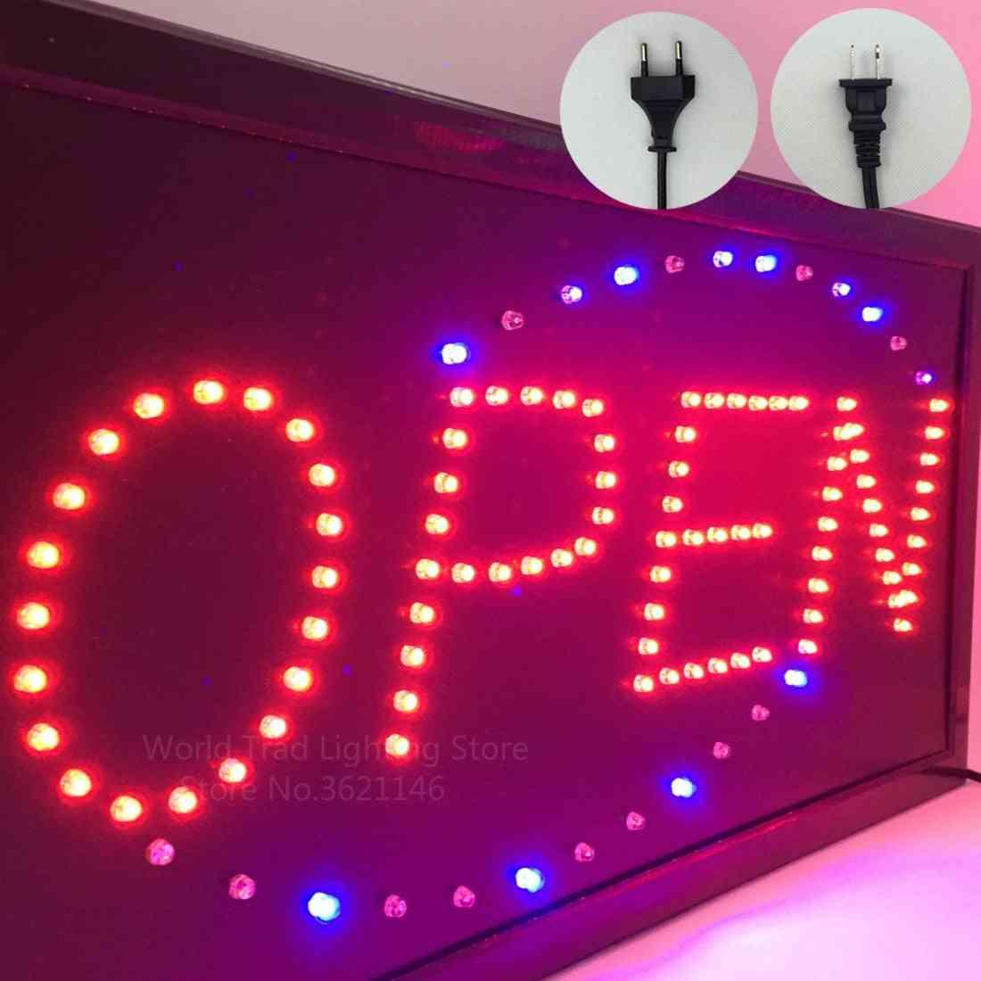 Led Store Open Sign Logo Advertising Light Board Shopping Mall Bright Light