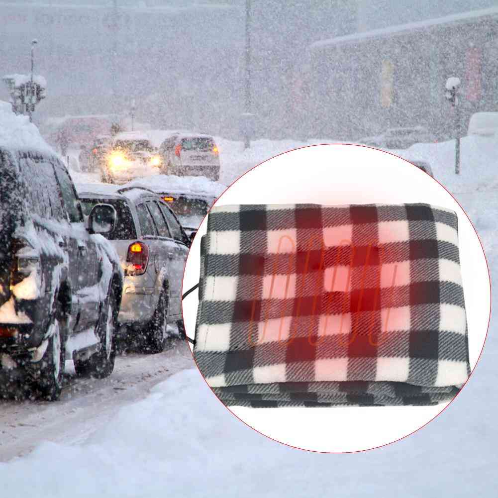 Lattice Energy Saving Warm Car Heating Blanket, Autumn And Winter Electric Accessories