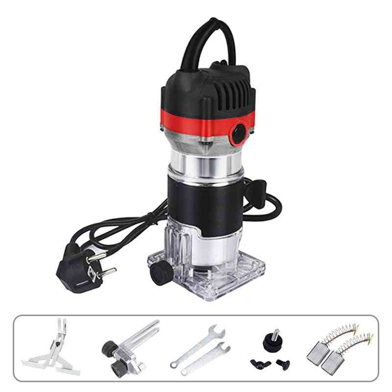 Electric Woodworking Machines Wood Router Tool Combo Kit