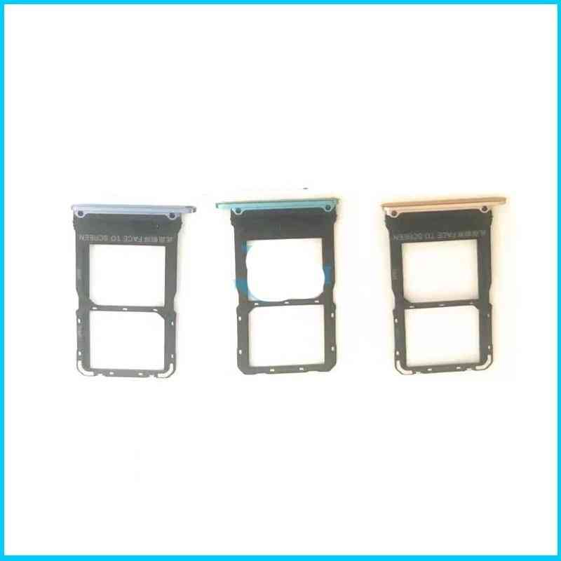 For Xiaomi 10 Mi 10 Pro Reader Sim&sd Card Tray Holder Slot Adapter Replacement Part