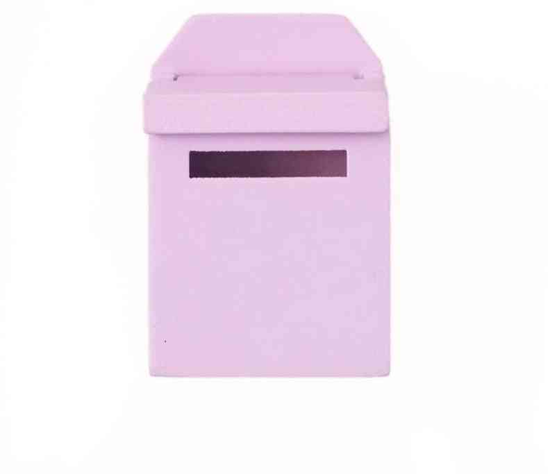 Wooden Mailbox With Decal