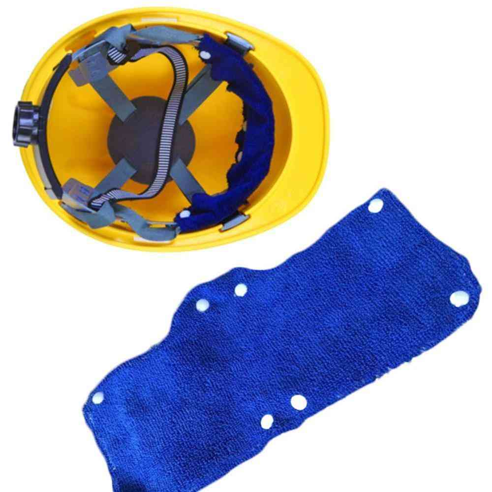 Comfort Hard Hat Replacment Sweat Band Worker Snap-on Type Safety Tool Soft Outdoor Workplace Accessories Summer Helm