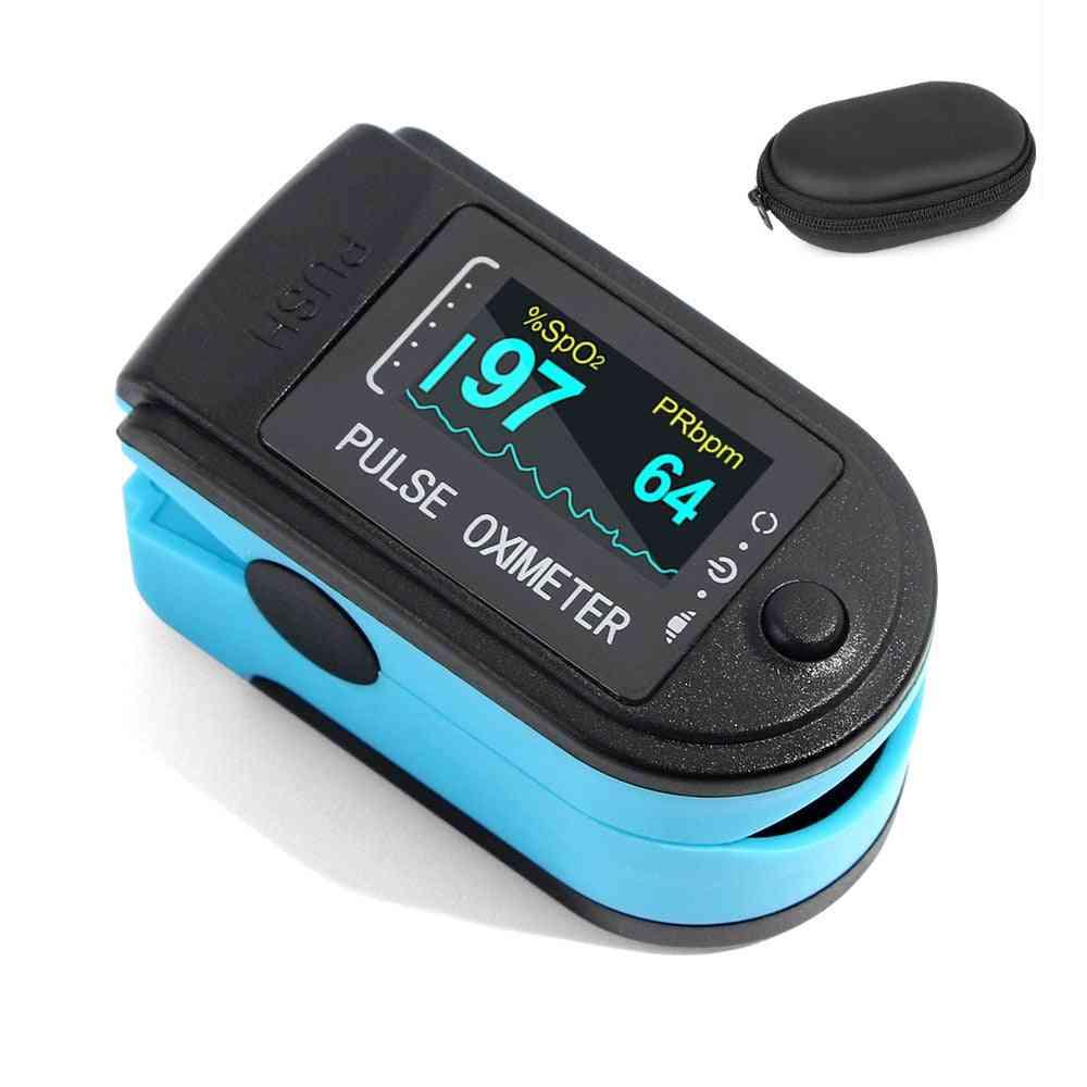 Portable Finger Oximeters Fingertip Pulsioximetro Heart Rate Saturometro Household