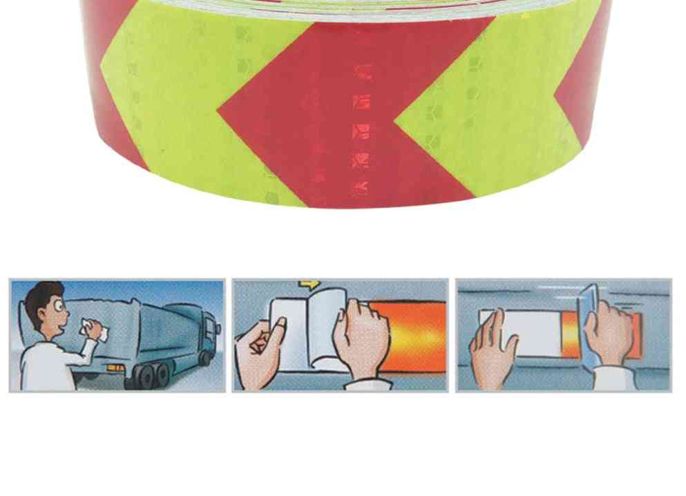 3m Arrow Reflective Tape For Safety, Warning