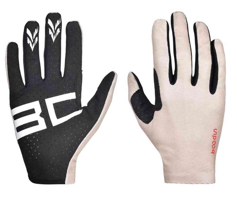 Men Women's, Full Finger Breathable, Horse Riding Gloves