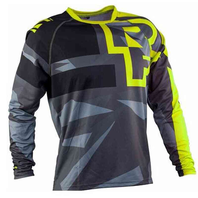 Men's Race Face Mountain Bike, Motocross Sportwear Jerseys