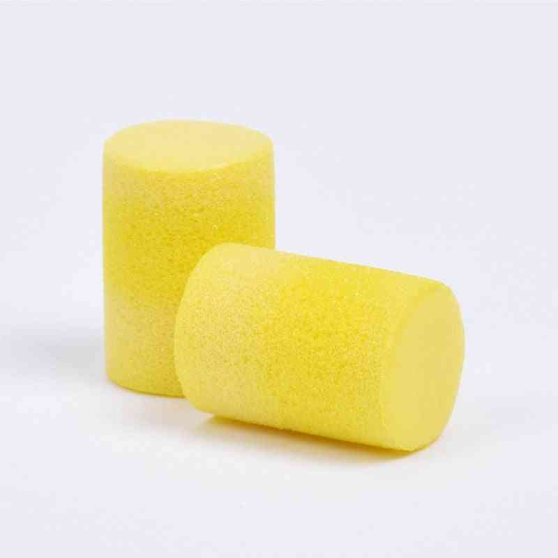 Noise Reduction, Disposable Ear Protective, Soft Ear Plugs