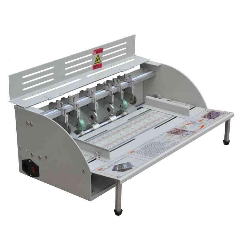 Electric Paper Creasing Machine, Folding Creaser, Scorer Cutter, Perforating