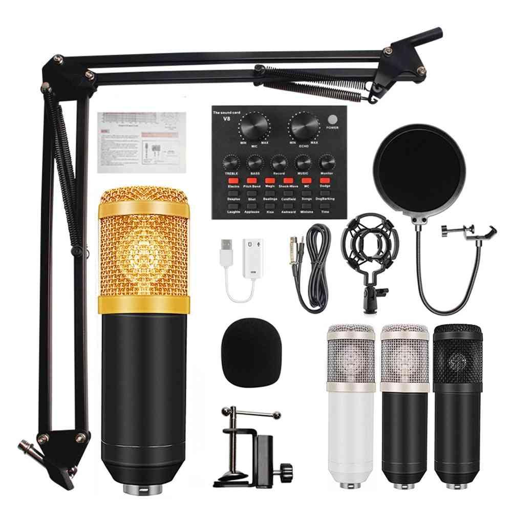 Bm 800 Condenser Microphone Mic For Pc Studio