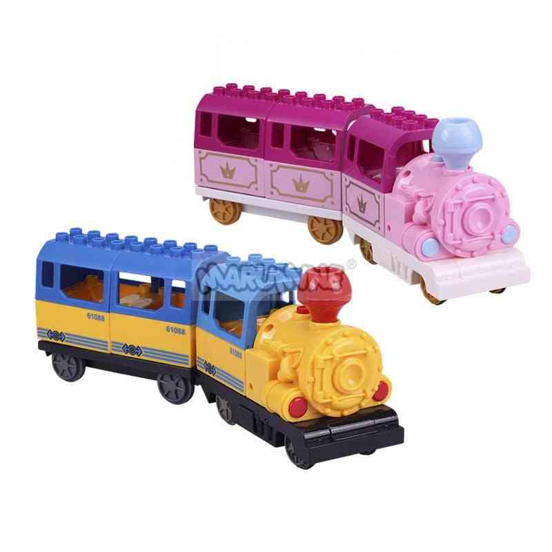 Battery Operated Duplo Blocks Train, Building Bricks Educational Toy