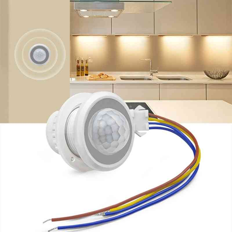 Time Delay Adjustable Highly Sensitive Auto On/off Pir Infrared Motion Sensor Switch