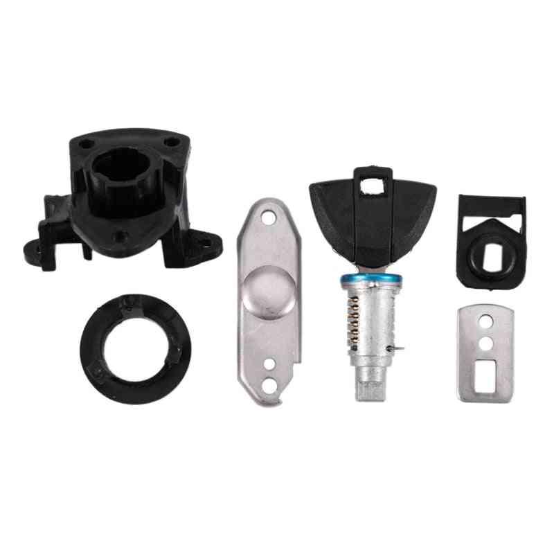 Rear Passenger, Seat Lock & Bracket Key, Safety Side Box Lock For Motorcycle  (black)