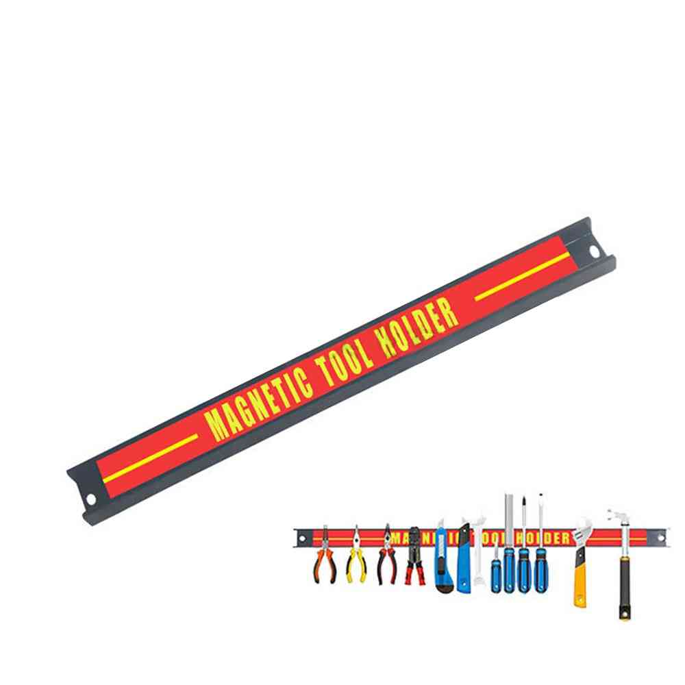 Heavy Duty- Wall Strong, Metal Magnetic, Strip Holder Tool