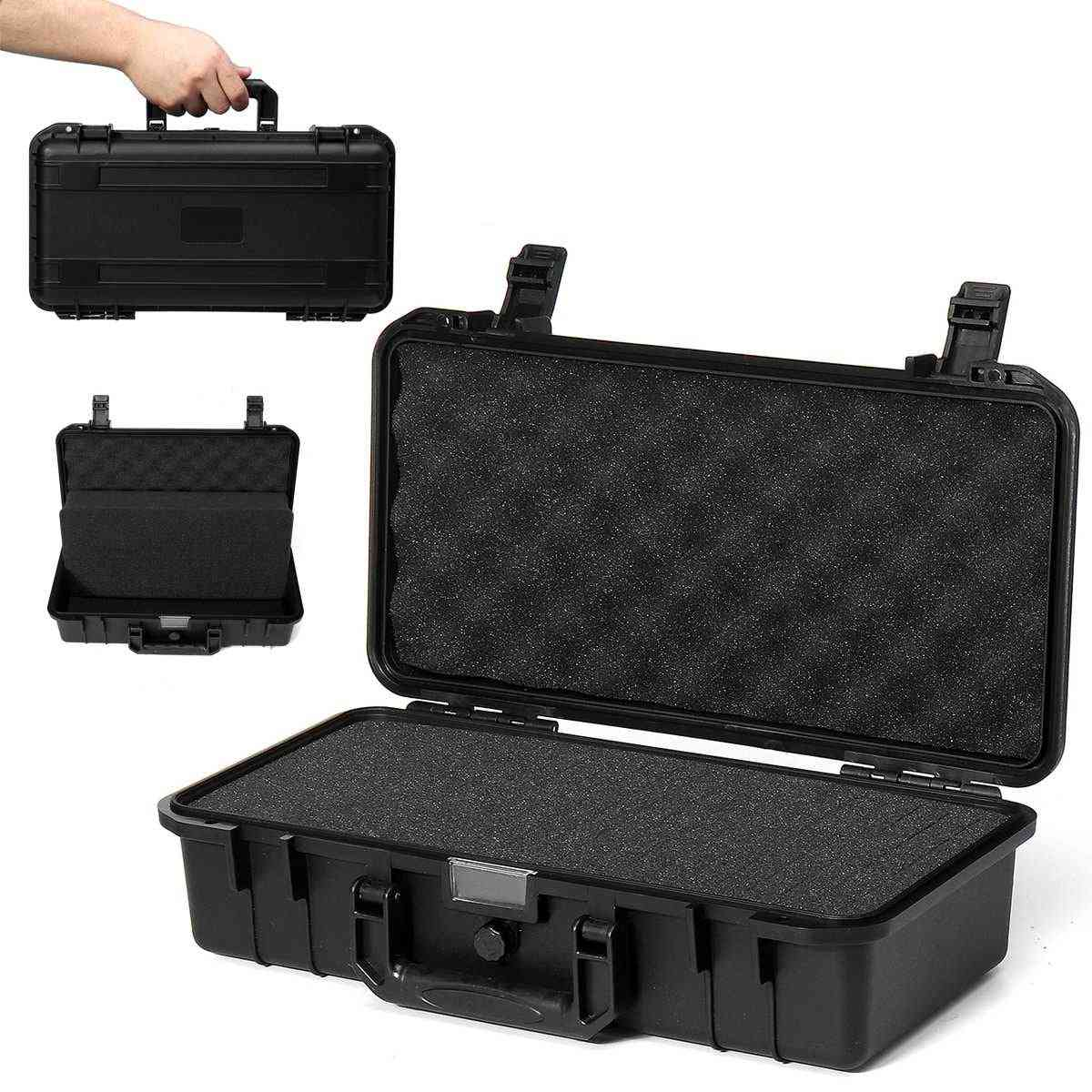 Protective Safety Instrument Waterproof Shockproof Toolbox With Sponge
