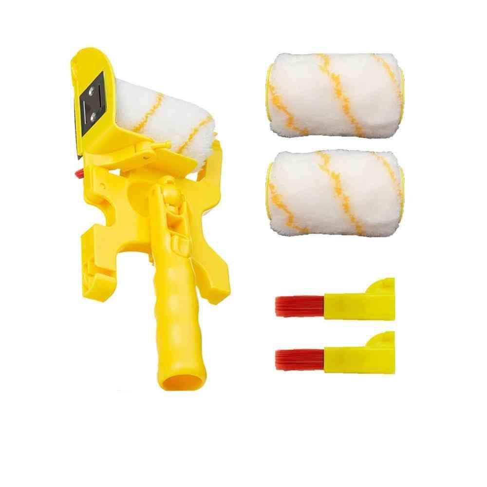 Multifunctional Clean-cut Paint Edger Roller Paint Brush Set