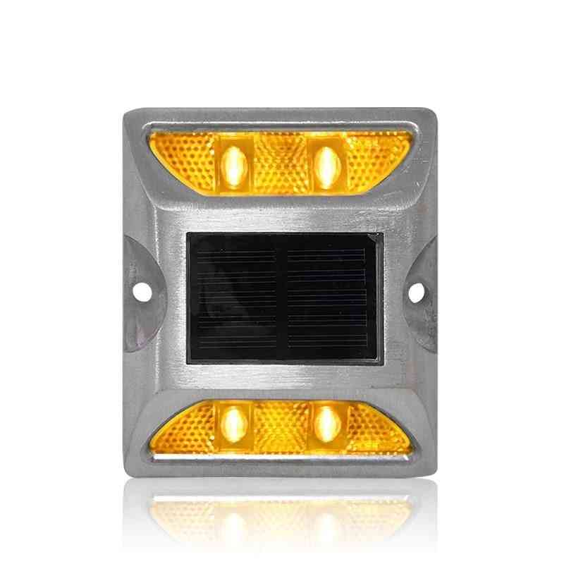Waterproof Solar Road Stud With Led Light