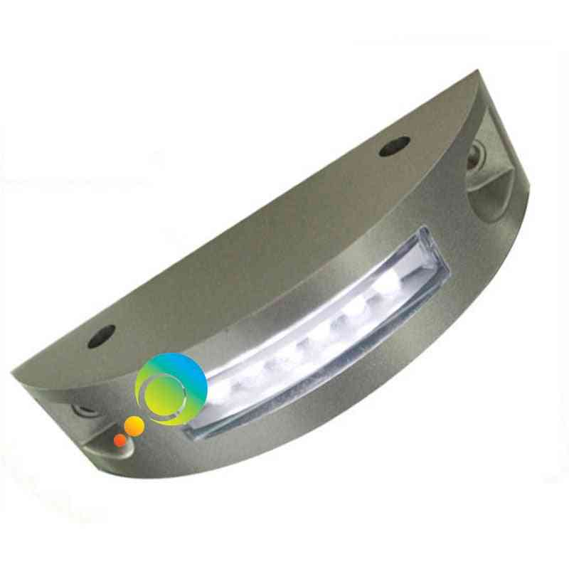 Solar Power Road Reflector Warning Light