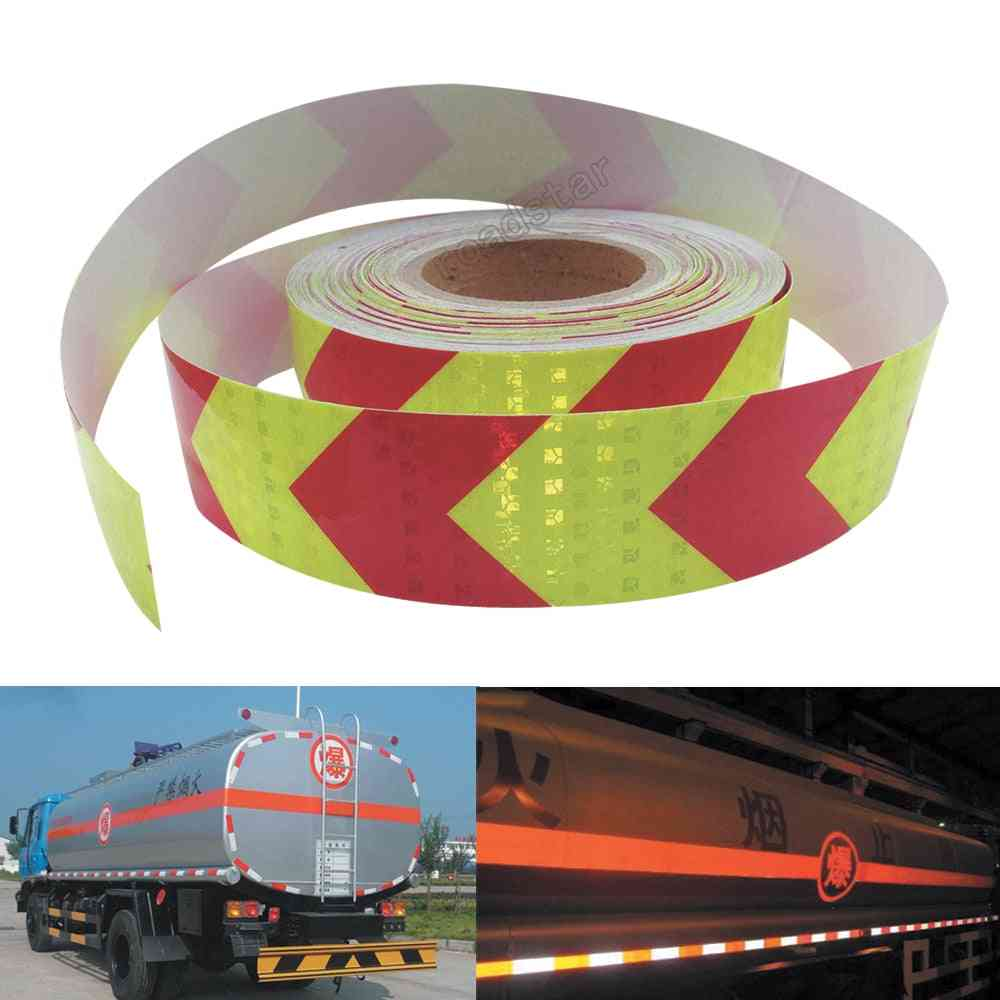 Arrow Safety Reflective Warning Tape