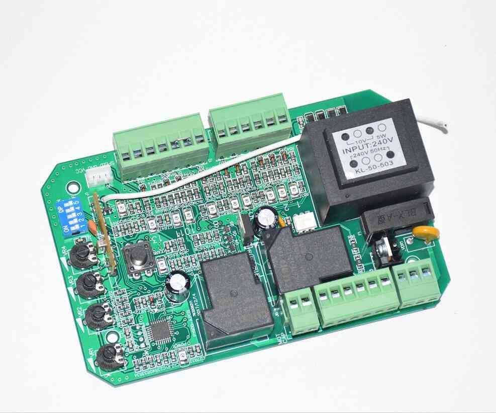 Sliding Gate Opener Motor Pcb Circuit Board / Controller Card