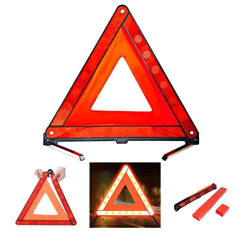 Car Safety Combination Triangle Warning Sign
