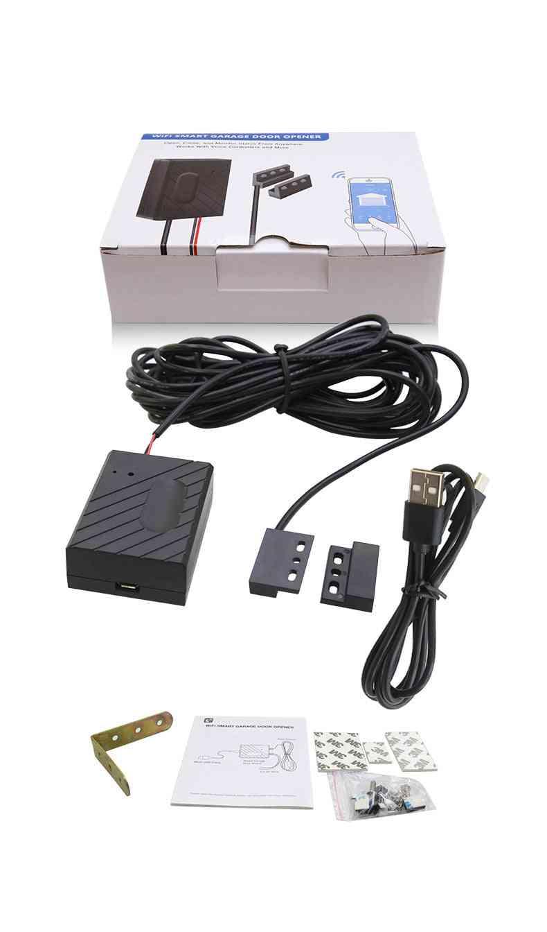 Electric Sensor Wifi Garage Door Opener Controller