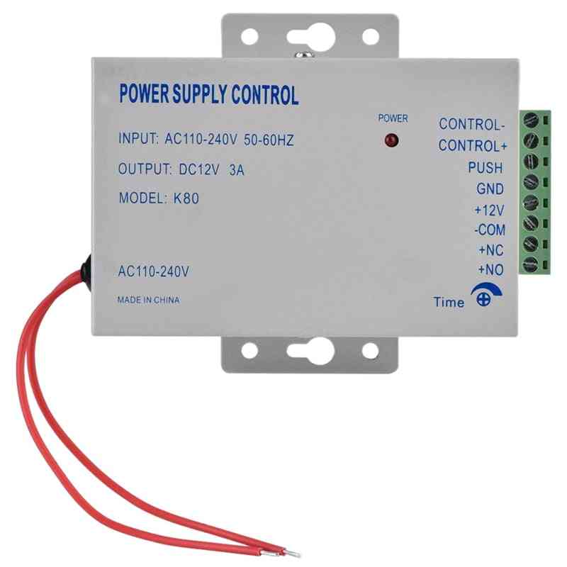 Door Access System Electric Power Supply Control