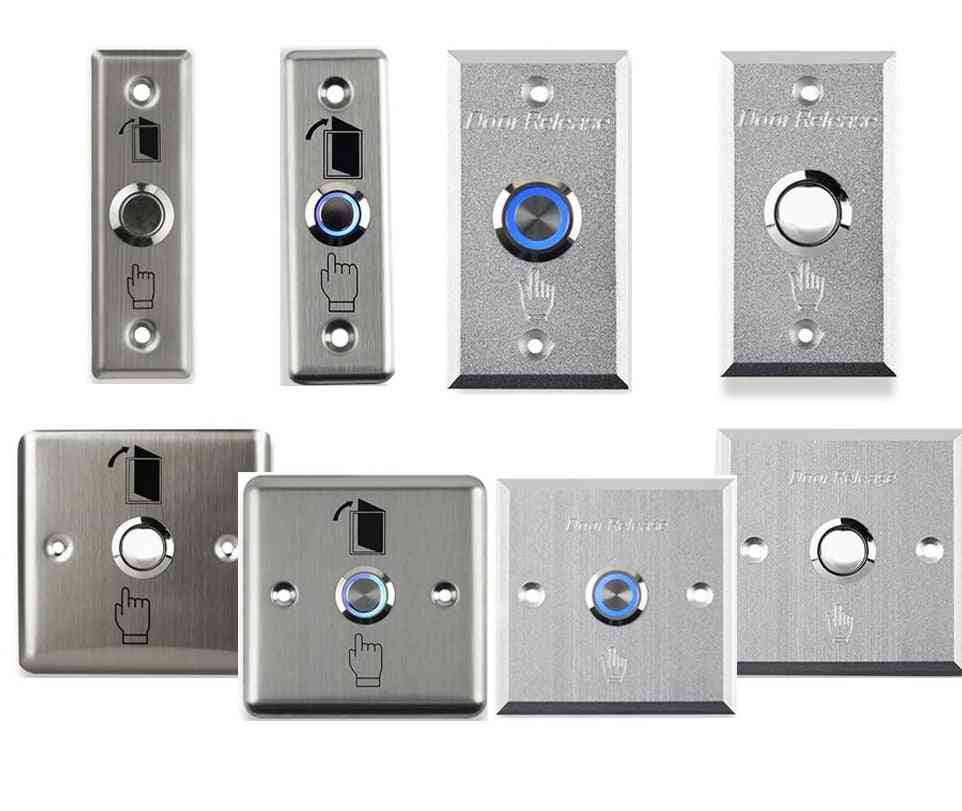 Switch Door Exit Button With Led Light