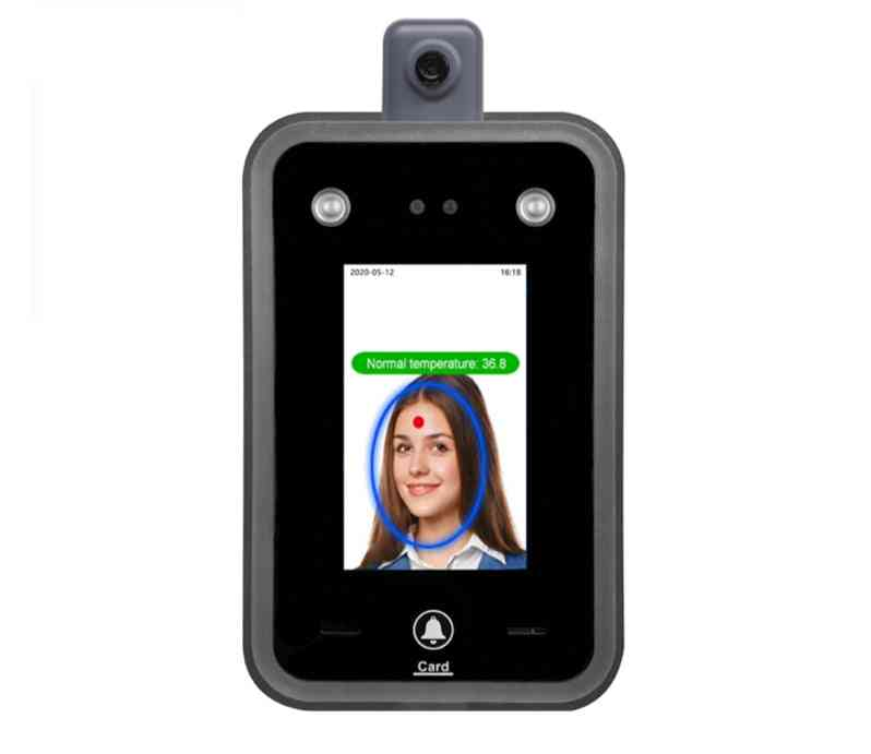 New Temperature Detection Face Recognition Terminal Facial Access Control System