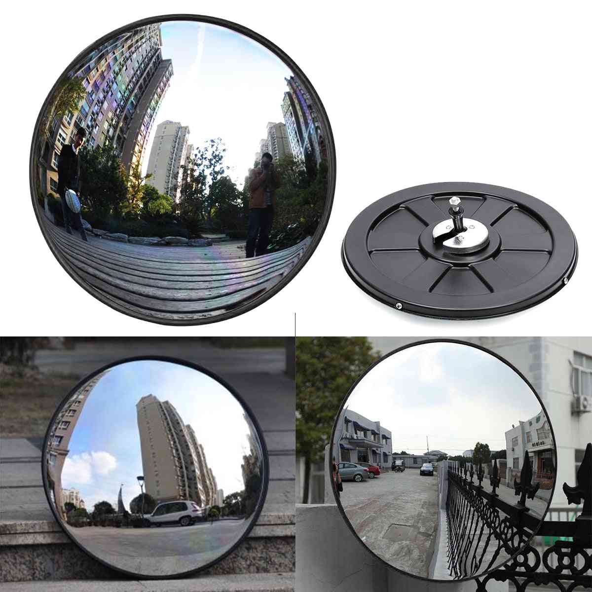 Wide Angle Security Curved Road Mirror For Indoor Burglar, Outdoor Safurance Roadway Safety