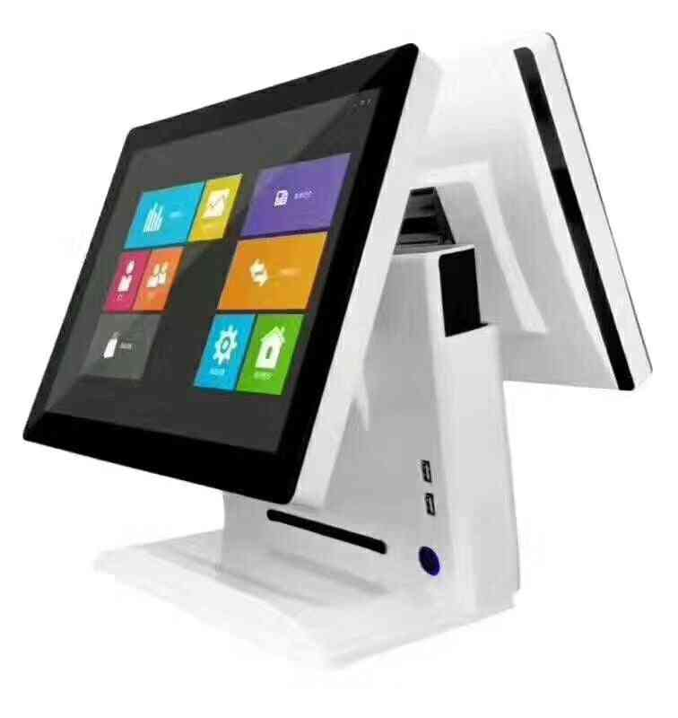 13 15 Inch Touch Dual Screen In One Global Version, Card Payment Pos System Terminal