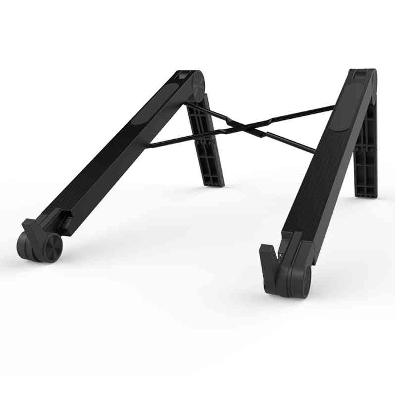 Lightweight Cooling Plastic Vertical Laptop Stand