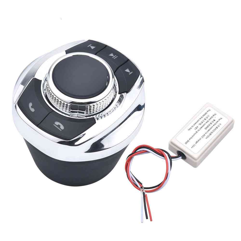 Cup Shape With Led Light 8-key Car Wireless, Steering Wheel, Control Button