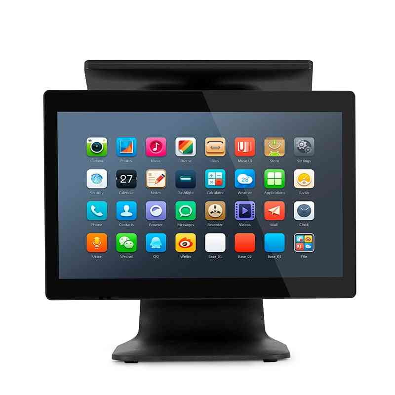 All In One Electronic Cash Register Pos System Machine