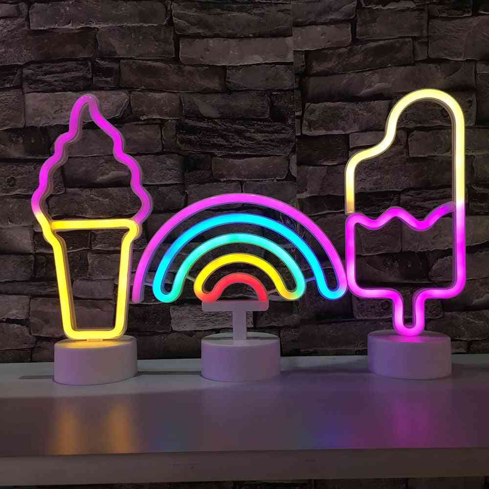 Led Neon Light Usb/battery Operated