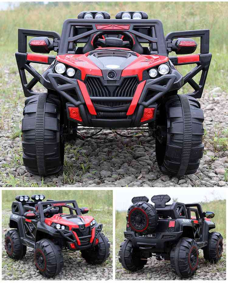 Four-wheel Drive Ride On Riding Toy, Off-road Vehicle Remote Control Car