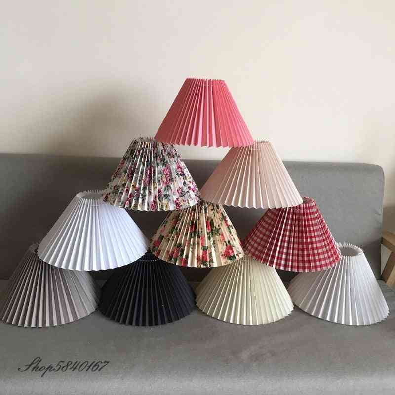New Pleated Lampshade For Table Lamp Standing Lamps