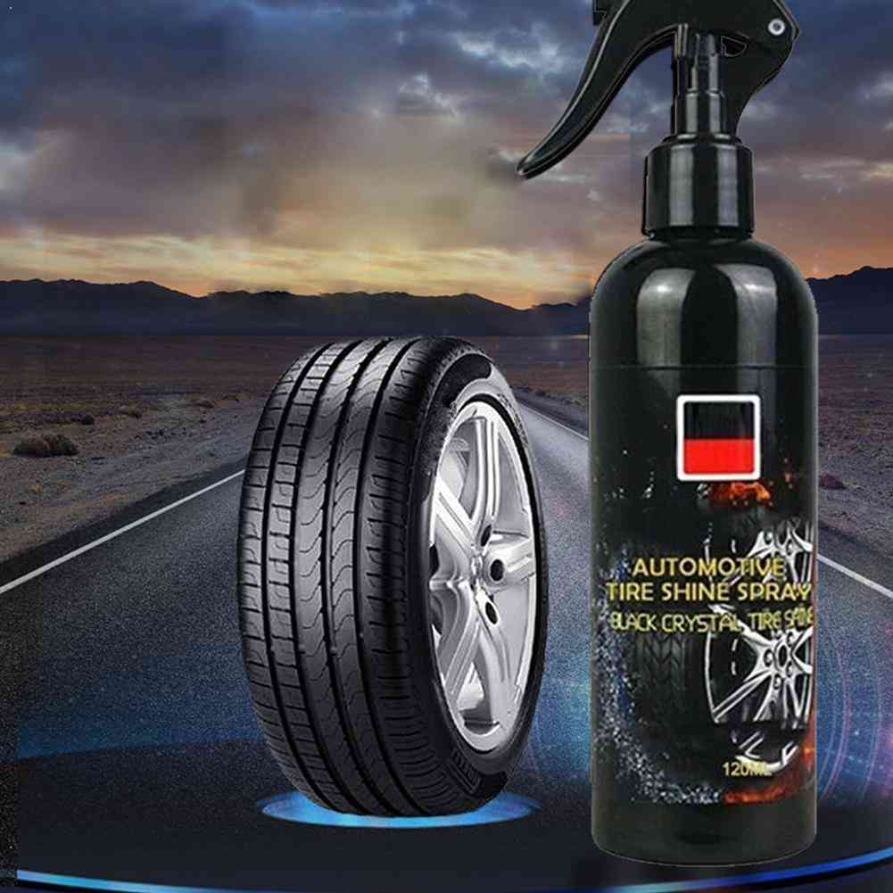 100ml Car Tire Cleaner Auto Tires Coating Protectant Cleaning Car Tire Polishing Tool