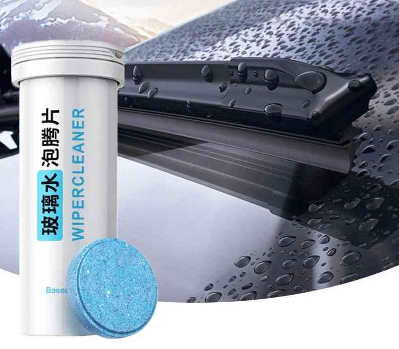 Windshield Glass Cleaner, Tablets Wiper, Auto Window, Cleaning Water For Car Accessories (4g X 12pcs)