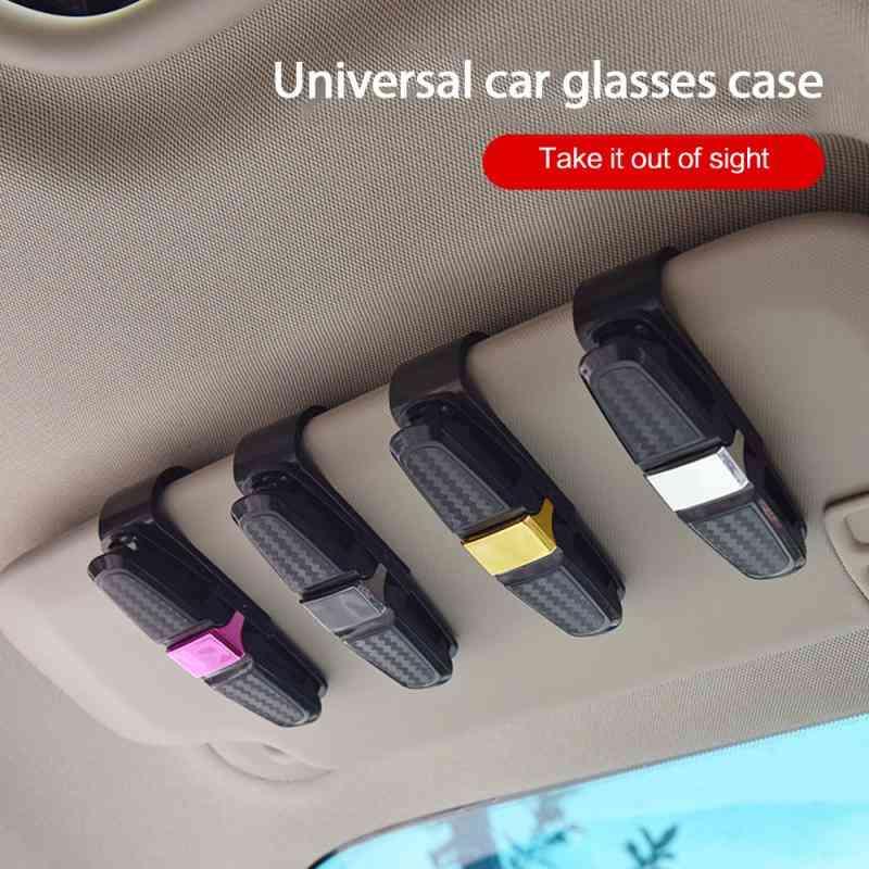 Auto Sunglasses, Sun Visor, Clip Holder For Car Accessories
