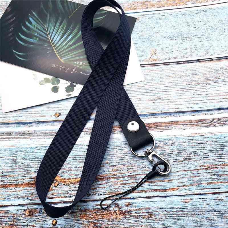 Mobile Phone Straps, Metal Hanging Neck Rope Lanyard