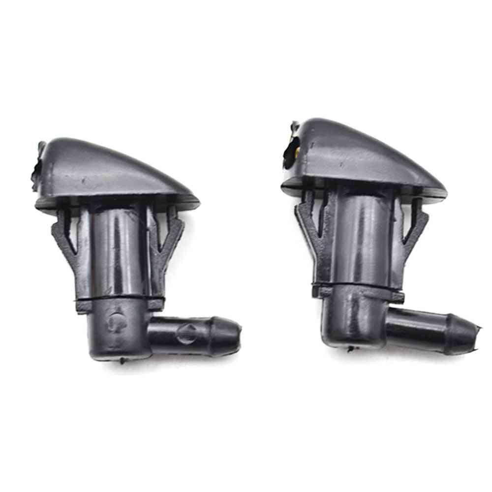 Erick's Wiper 2pcs/lot Front Windshield Washer Jet Nozzle For Toyota Prius Corolla Verso Ar10 Highlander Mk1 Oe# 98630-2e500