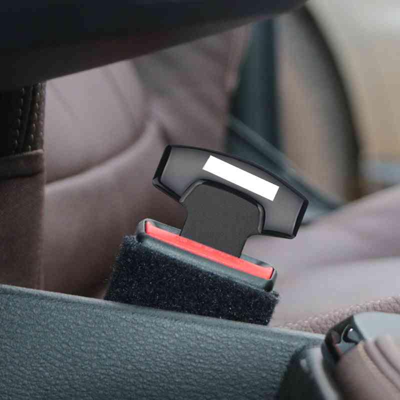 Car Belt Buckles Car Seat Safty Belt Alarm Canceler Stopper For Toyota Hilux Surf Vigo Revo Accessories