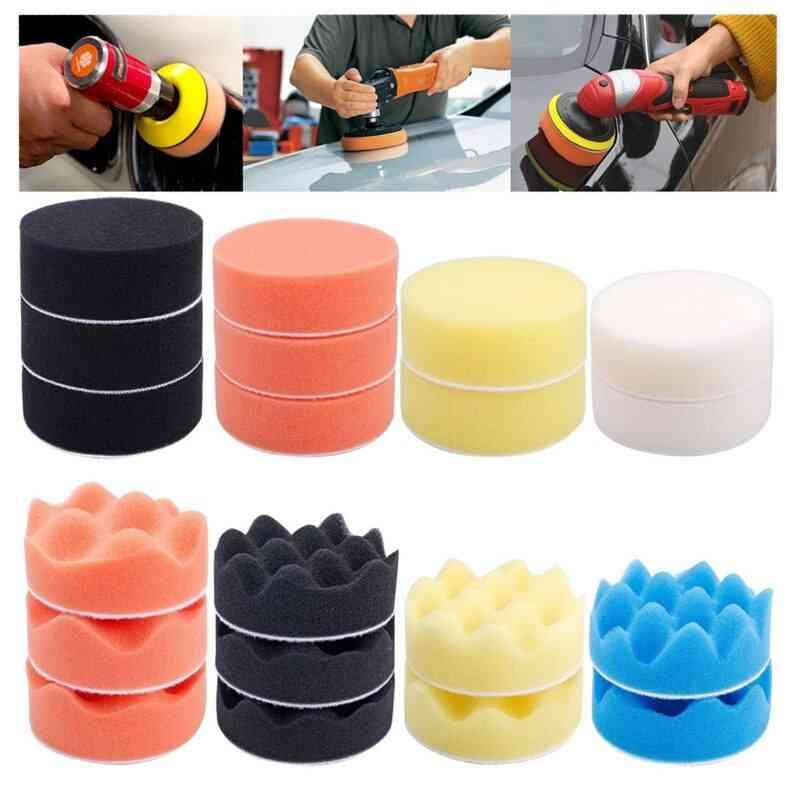 31pcs Car Foam Drill Polishing Pad Kit - Sealing Glaze Waxing Buffing Set
