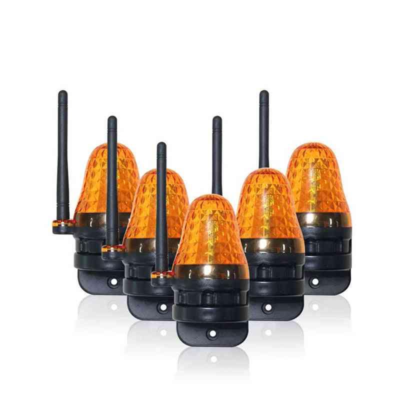 Led Light Flash Alarm Lamp For Swing Sliding Gate