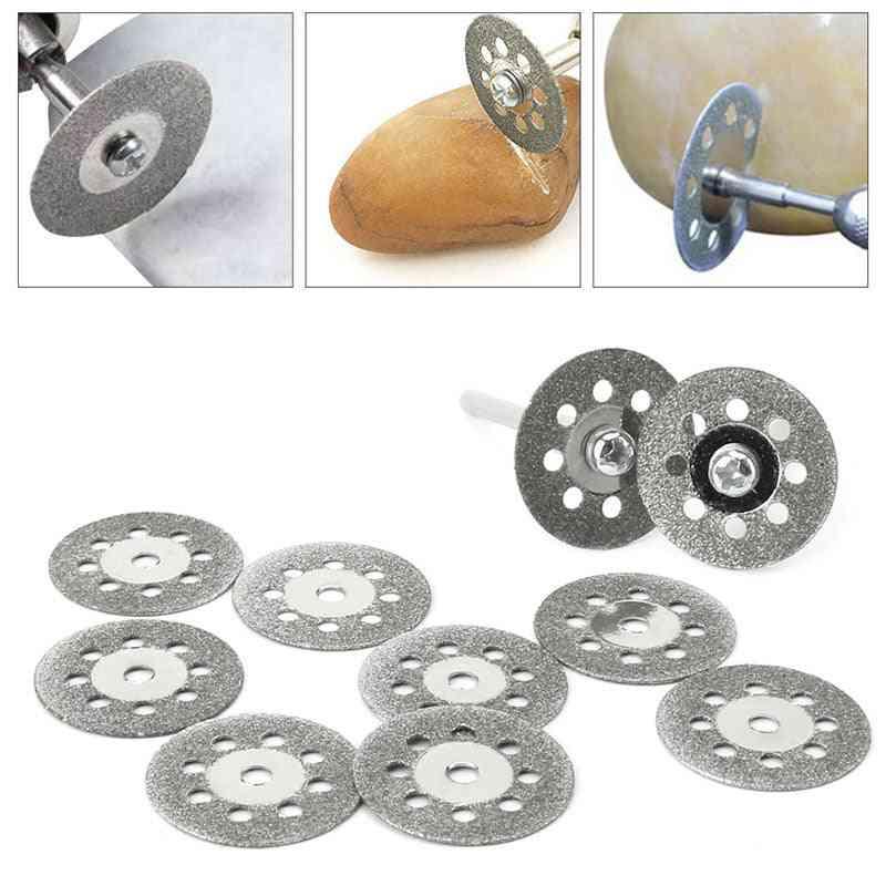 Diamond Grinding Wheel Discs Circular Cutting Saw Dremel Rotary Tool