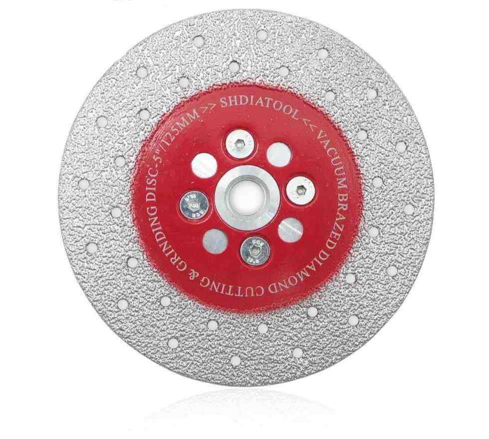 Double Sided Vacuum Brazed Diamond Cutting & Grinding Disc Sawblade Wheel
